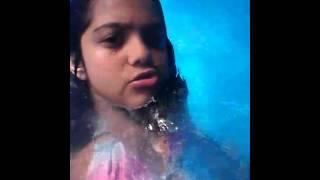 clarinha piscina 10 anos
