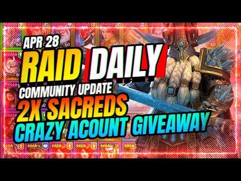 VOID REBALANCE! INSANE Account Giveaway! | RAID Shadow Legends