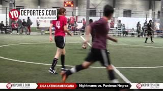 Nightmares vs. Panteras Negras Liga Latinoamericana de Chicago