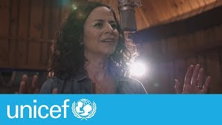 Line in the Sand by Mandy Gonzalez I UNICEF