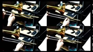 水樹奈々【深愛】全部トロンボーンで演奏してみた