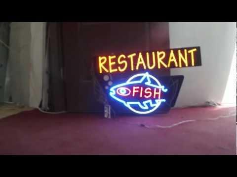 Balık Led Tabela