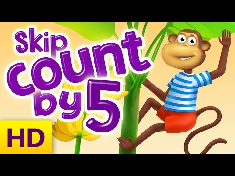 Learn how to skip count by 5