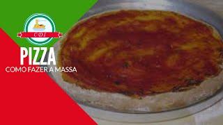 Como fazer massa de pizza, receita italiana - Culinaria direto da Italia