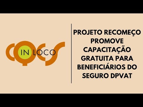 Imagem post: Projeto recomeço promove capacitação gratuita para beneficiários do seguro DPVAT