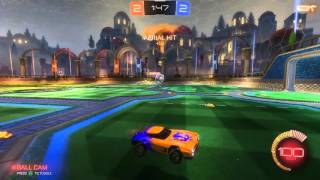 Rocket League- Passing always wins the game