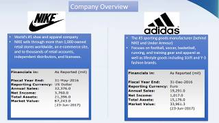 Holt Valuation Challenge 2017 - Nike vs Adidas