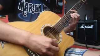 Marilyn Manson - Cryptorchid Acoustic Guitar Cover