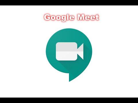 A01 登入Google Meet會議系統 - YouTube