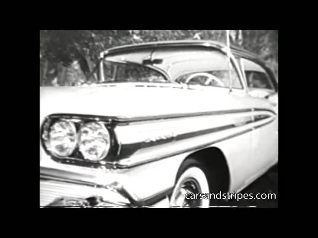 1958 Oldsmobile Super 88 - Original Commercial