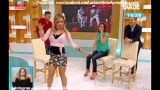Luciana Abreu - com David Carreira
