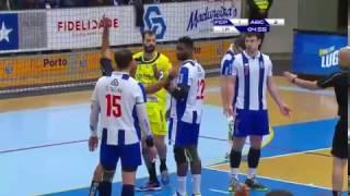 Andebol: FC Porto-ABC, 32-30 (Andebol 1, 21.ª jornada, 04/02/2017)