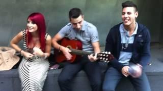Maria Maria - Jessica Minnella, Zayne Mehrez & Omar Dean (acoustic)