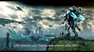 The key we've lost [Final Boss Theme] - Xenoblade X OST [With Onscreen Lyrics] (HQ 1080p HD)
