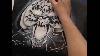 Motörhead - Overkill on leather jacket