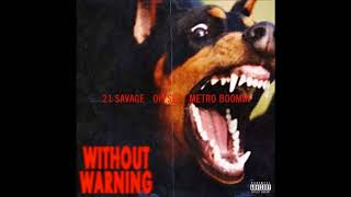 My Choppa Hate Niggas - 21 Savage & Metro Boomin Instrumental (prod. by Hb)