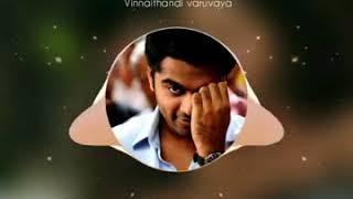 Vinnaithandi varuvaya bgm whatsapp status💑👫💟
