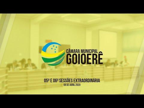 Vídeo na íntegra da Sessão Ordinária da Câmara Municipal de Goioerê dessa quarta-feira, 08
