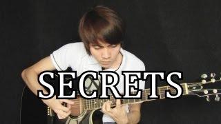 Secrets - One Republic (fingerstyle guitar cover w/ tabs)