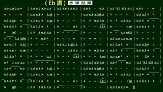 4.水車姑娘(Eb)伴奏-(簡譜)