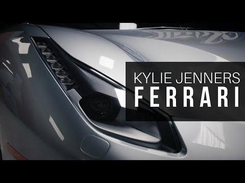 Kylie Jenner's New Ride? Ferrari 488 GTB on Lexani Wheels!!