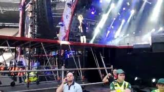 AC/DC feat Axl Rose - Thunderstruck (Snippet) - London Olympic Park - 04/06/16