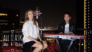 All I Ask by Adele - Live Cover by Jolie and Ricky