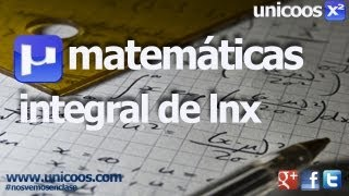 Imagen en miniatura para Integral por partes Lnx