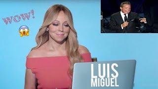 MARIAH CAREY reacciona a LUIS MIGUEL (2018)