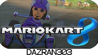 MARIO KART 8 Gameplay w/ Dazran303 | Wii Moo Moo Meadows | MK8 Gameplay 150cc Race [HD]