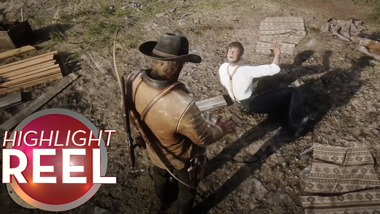Red Dead Man Can't Keep Head On Straight