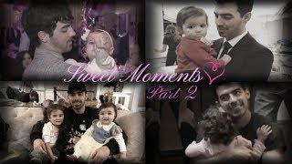 Uncle Joe Jonas with Alena & Valentina (sweet moments!) ❤