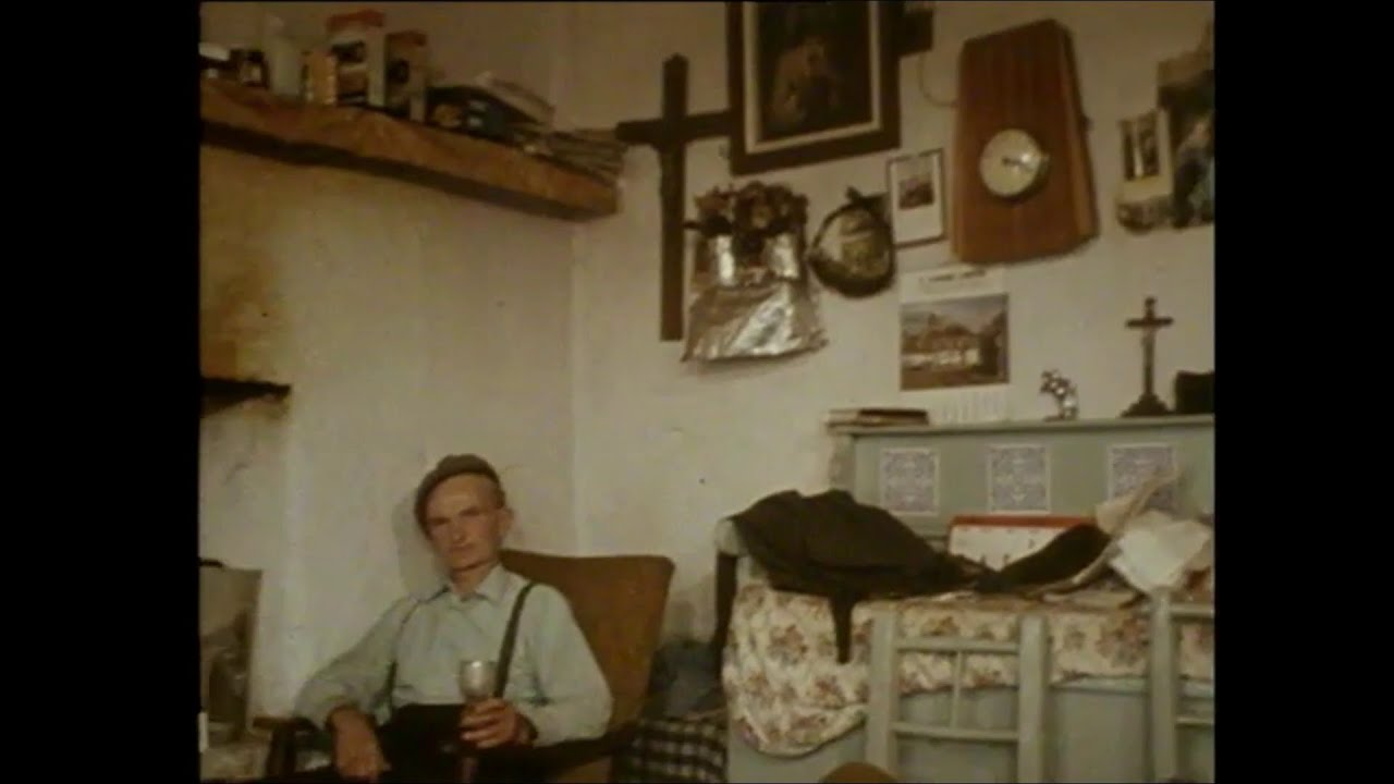 Old Irish Cottages & Flagstones, Co. Clare, Ireland 1977