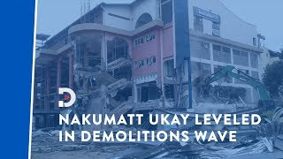 Ukay Mall bulldozed, despite owners' efforts to stop demolition