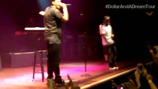 J Cole feat. Kendrick Lamar - Forbidden Fruit (Live) Dollar & A Dream Tour | Houston 6/24
