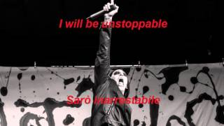 Motionless in white   Unstoppable lyrics & traduzione
