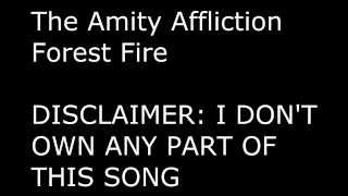 Lyrics: The Amity Affliction - Forest Fire