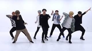 Wft bangtan 'voguear' dance pratice