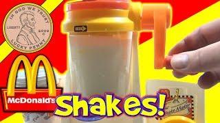 McDonald's Happy Meal Magic 1993 Shake Maker Set - Making Milk Shakes! width=