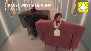 Kanye West & Lil Pump - I Love It (Clean)
