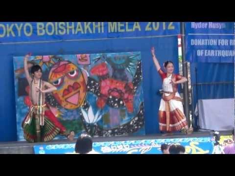 バングラデシュ正月祭 ボイシャキ・メラ2012 舞踊 1/2