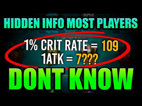 Tips and Tricks Even END Game Players Aren't Aware Of! Raid Shadow Legends