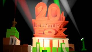 20th Century Fox logo 2009 (Italian Variant)