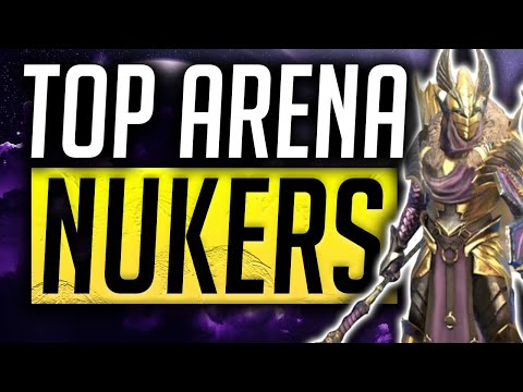 RAID: Shadow Legends | Top Arena AOE Nukers!