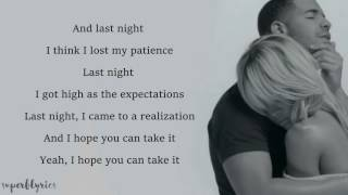 Drake   Too Good ft  Rihanna Lyrics