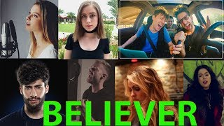 Imagine Dragons - Believer (Top 10 Cover)