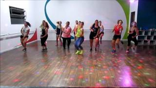DESPACITO ZUMBA COREO (Con audio original)