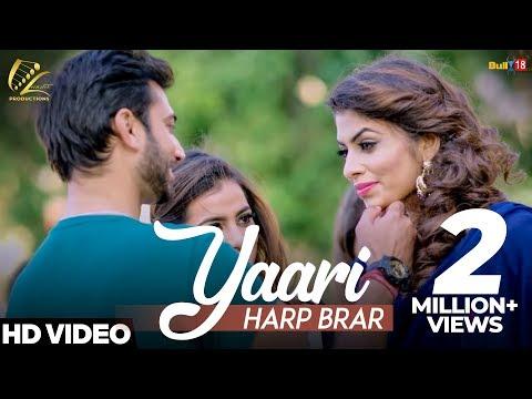 YAARI LYRICS - Harp Brar | Punjabi Songs 2018