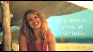 Bridgit Mendler- Blonde (Official Lyric Video)