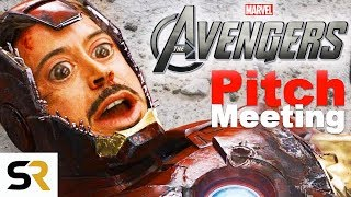 The Avengers Pitch Meeting width=